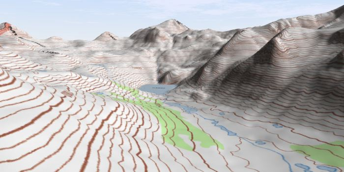 Free Online Sources Of Topographic Maps And GIS Data - 3d topographical map of us